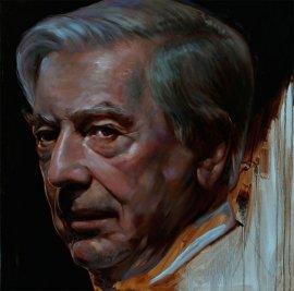 Retrat de Vargas Llosa