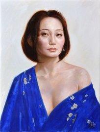 Retrat jove oriental