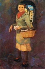 Vendedora de ajos